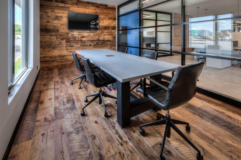 Kott Lumber Office Interior Design by Studio Forma