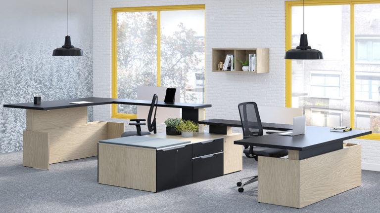 Adjustable Height Desks interior Design - Studio Forma